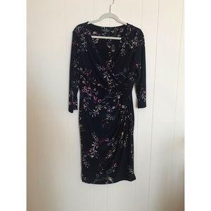 16 Lauren Ralph Lauren Floral Dress Wrap Style